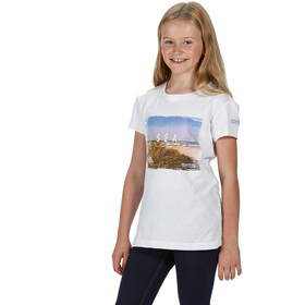 Regatta Bosley III T-Shirt Kinderen, white sea breeze